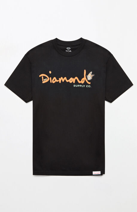 half off 2a9a0 18715 Paradise OG Script T-Shirt · Diamond Supply Co ...