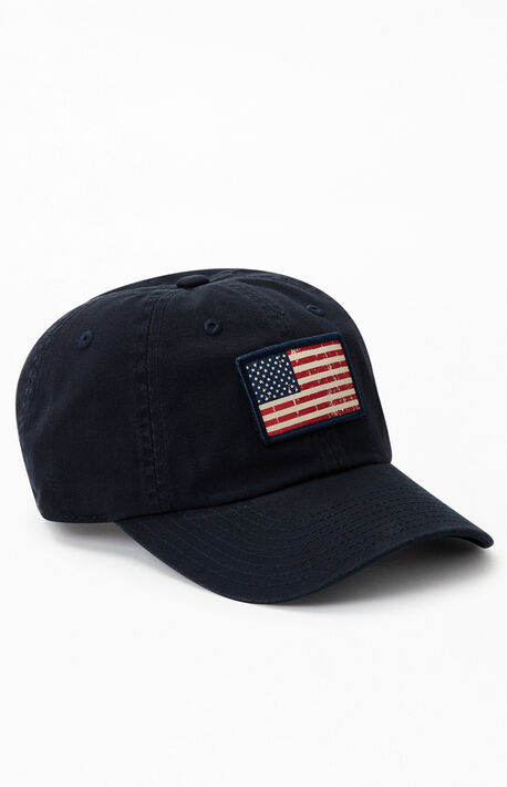 Flag Strapback Dad Hat
