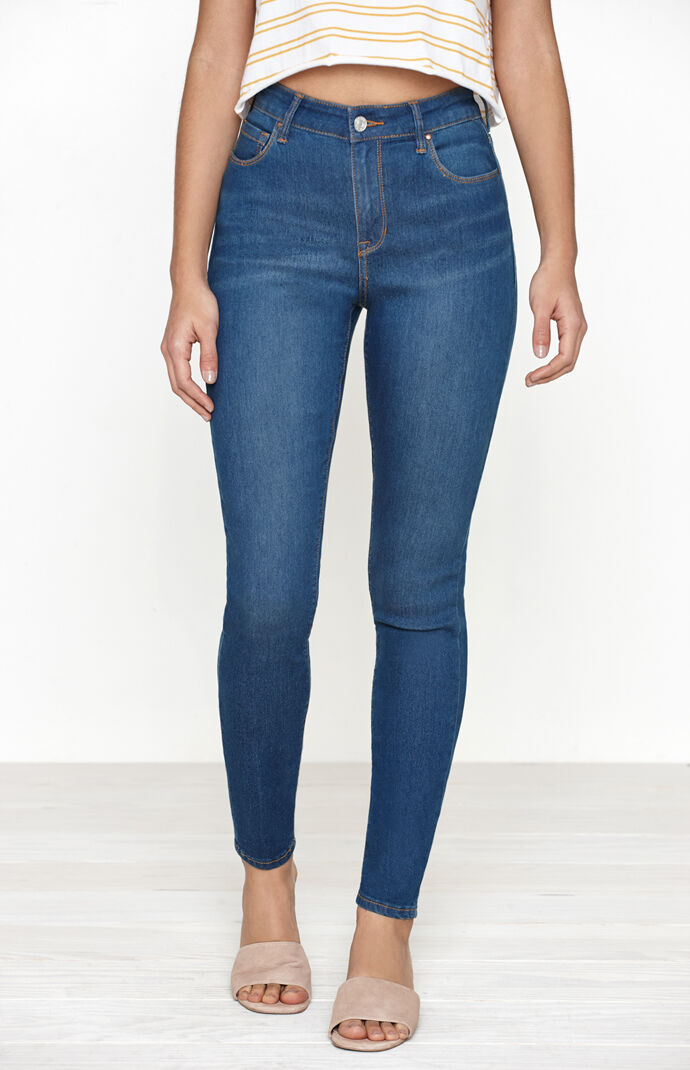 PacSun Azure Super High Rise Skinniest Jeans at PacSun.com d4b3f97ee