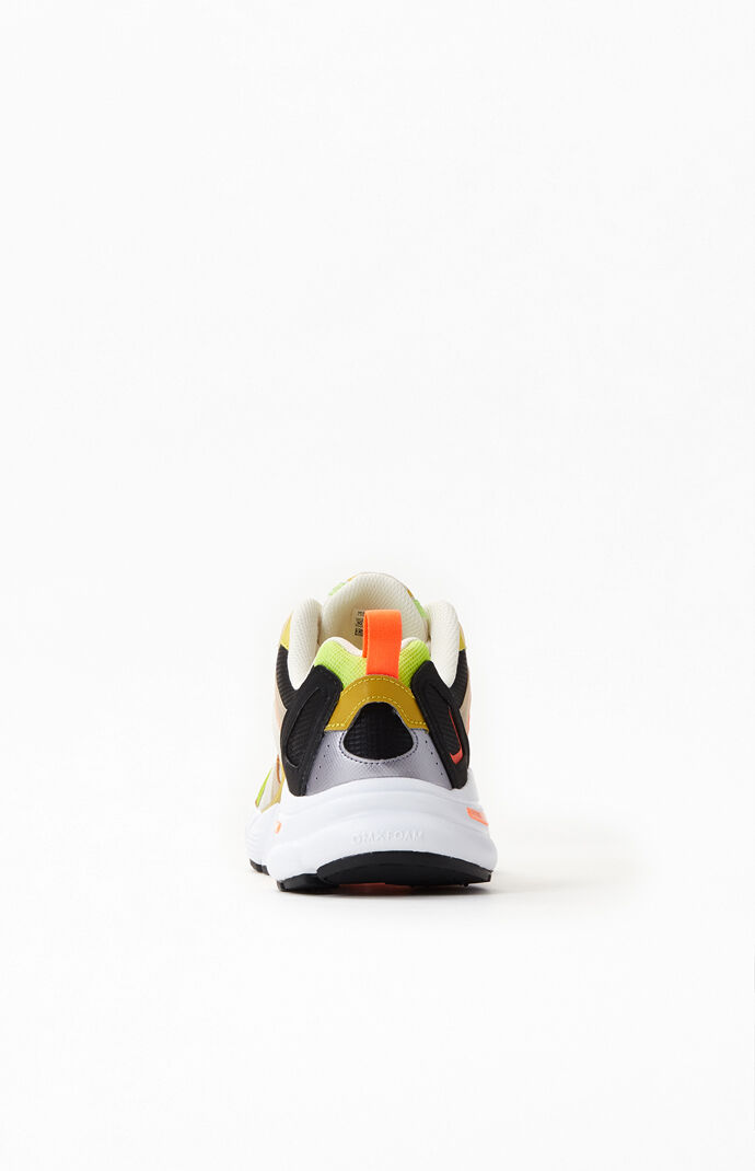 White & Orange Premier Shoes