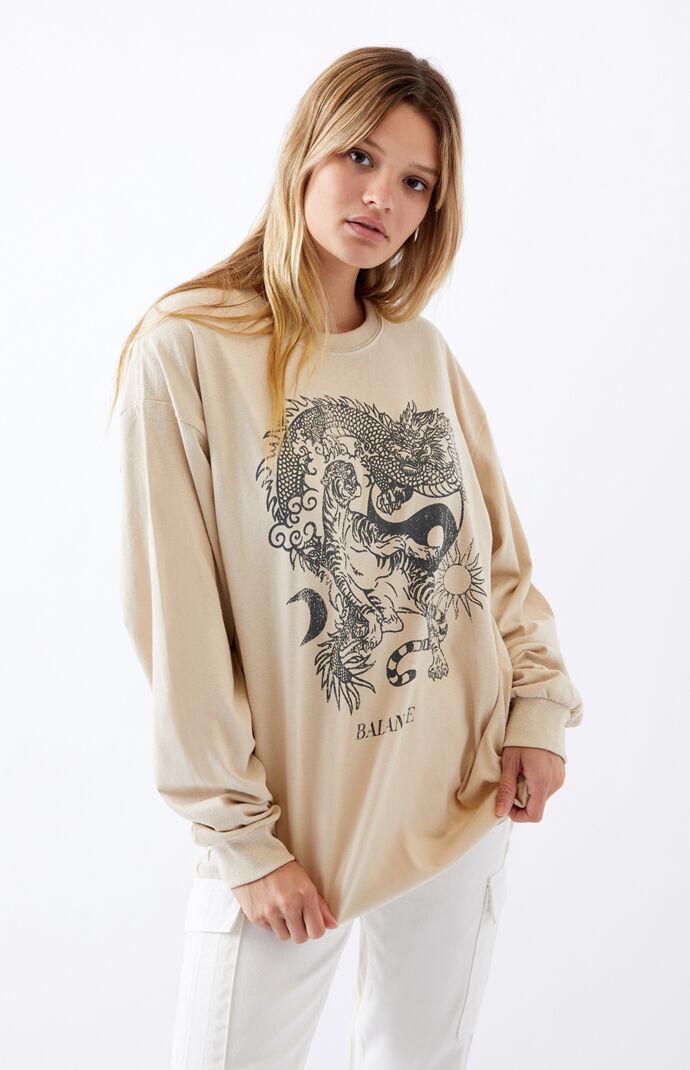 Balance Dragon Long Sleeve T-Shirt
