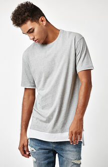 All Day Layered Extended Length T-Shirt