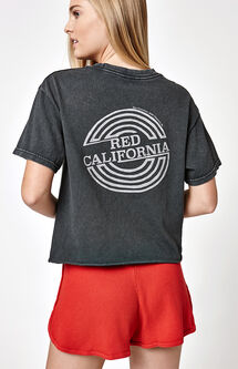 Red California T-Shirt
