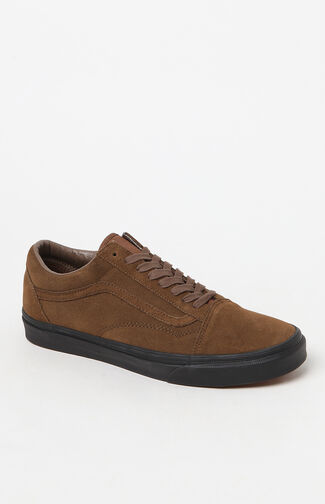 Suede Old Skool Brown Shoes