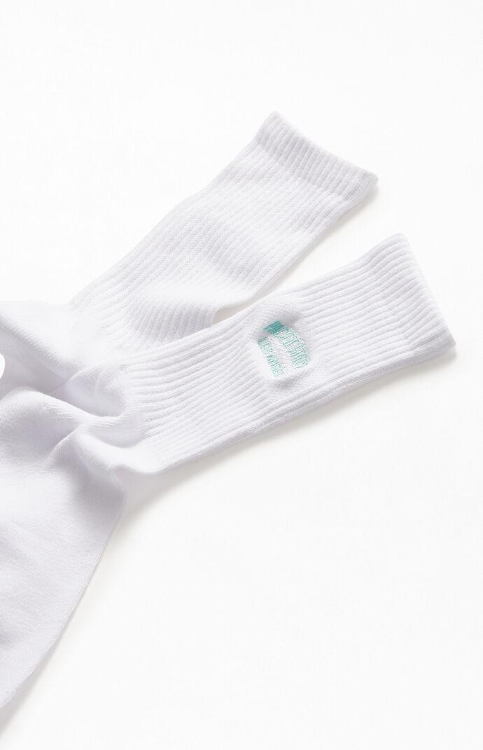 PacSun Logo Crew Socks