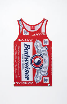 x Budweiser Flag Tank Top