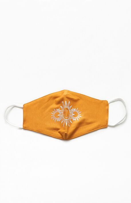 Center Sunburst Face Mask