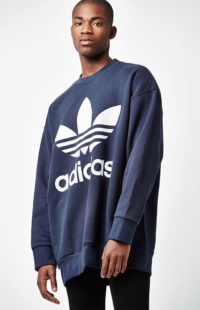 adidas Navy Crew Neck Sweatshirt 6565857