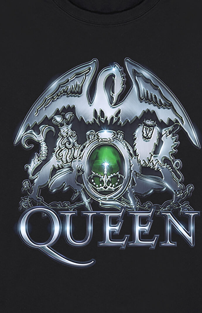 Queen Metal Crest T-Shirt