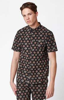 Casablanca Short Sleeve Button Up Shirt