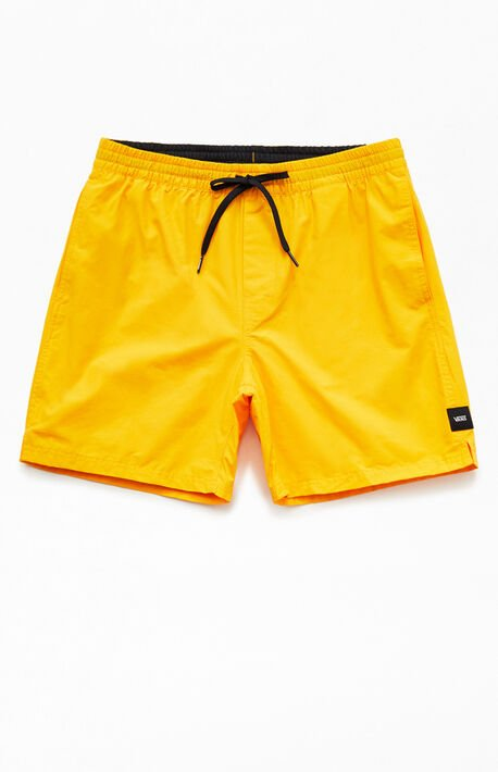 Gold Primary Volley Shorts