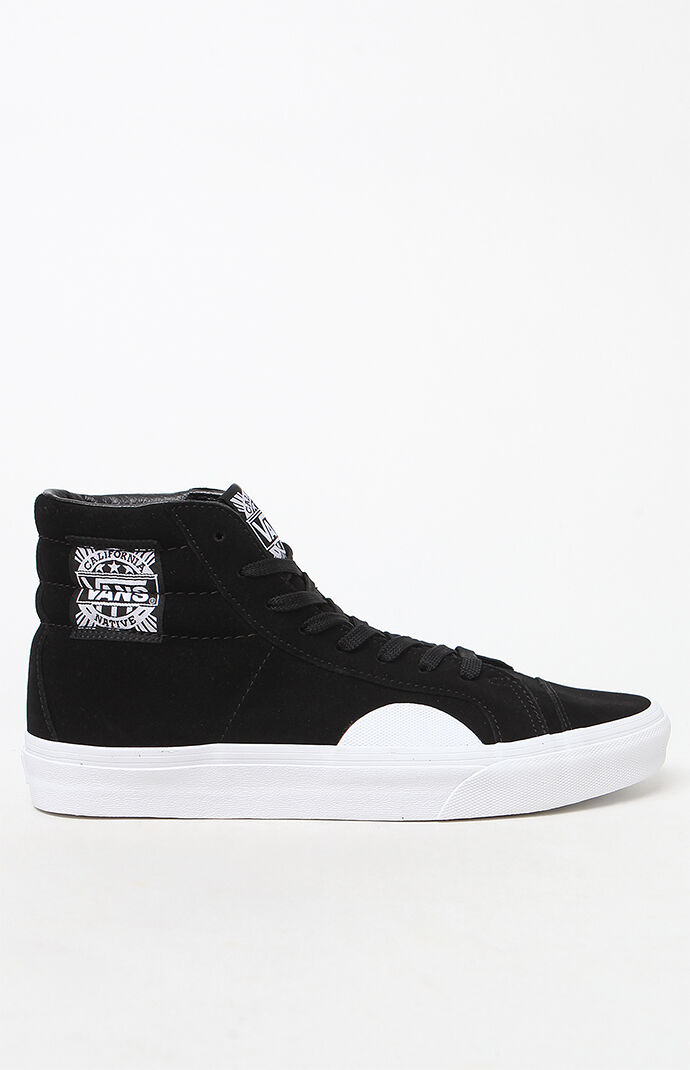 ad922e8bc7 Vans Native Suede Style 238 Black and White Shoes at PacSun.com