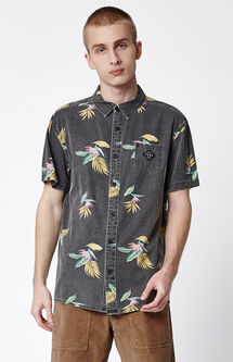Cuba Short Sleeve Button Up Shirt