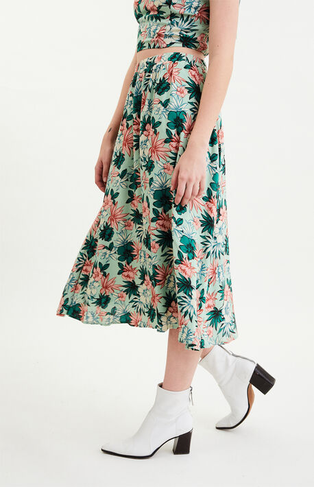 Island Hopper Midi Skirt
