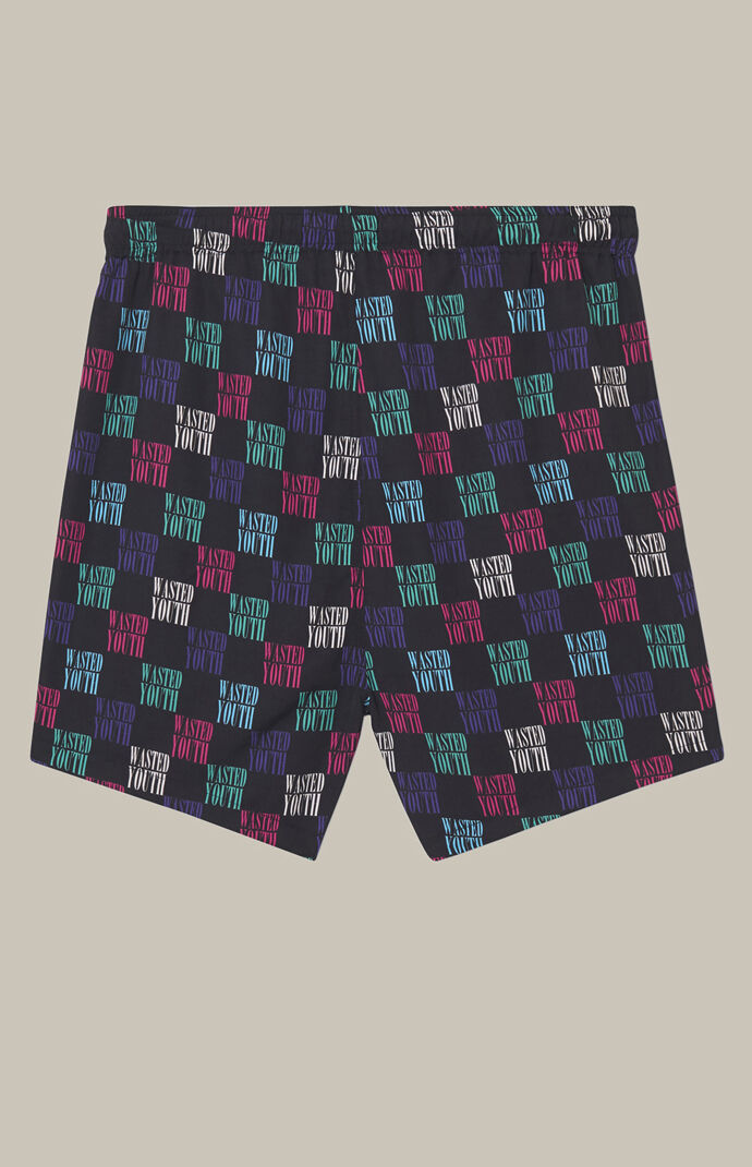 Zack Wasted Youth Printed Swim Trunks