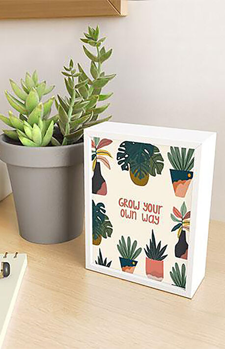 Oris Eddu Grow Your Own Way Framed Mini Art
