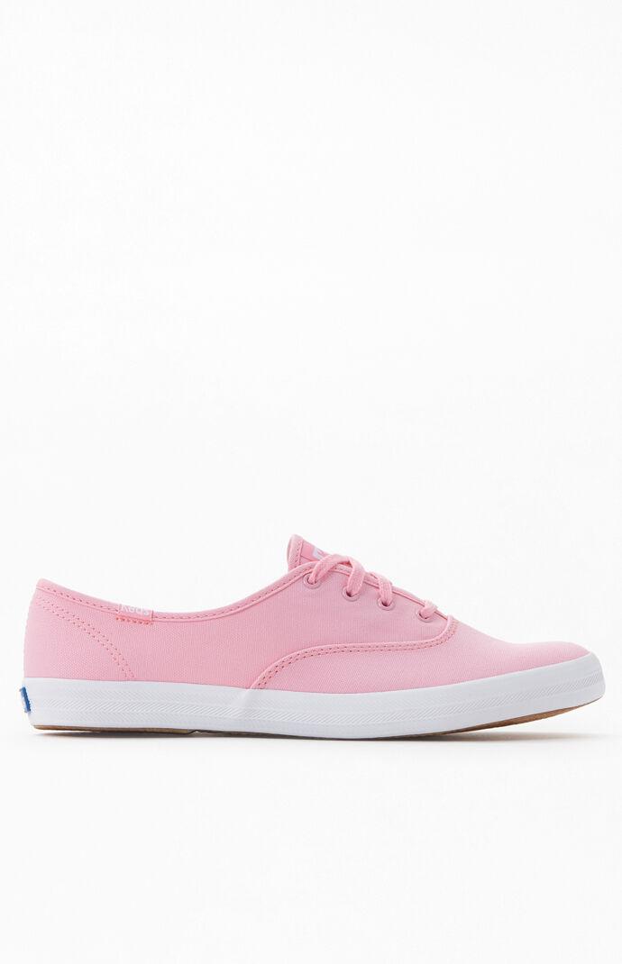 Keds Women's Pink Champion Seasonal Solid Sneakers | PacSun