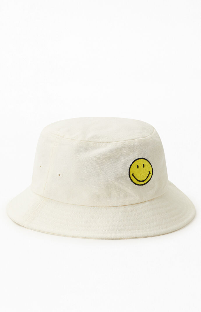 Smiley Face Recycled Bucket Hat