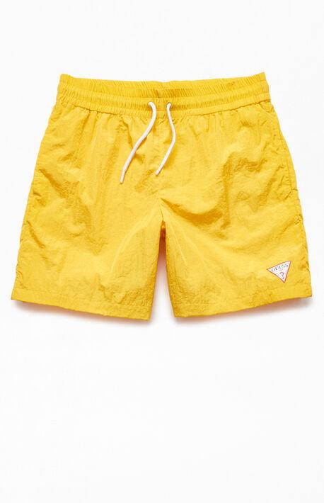 93bee6d5e1 Neon Nylon Active Shorts