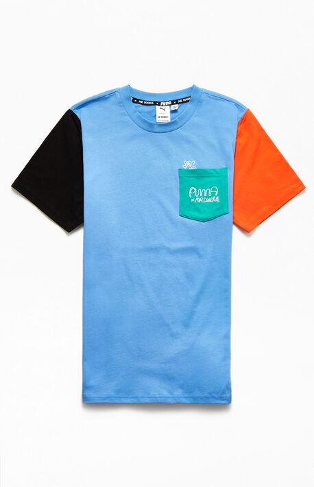 Mr. Doodle Colorblock T-Shirt
