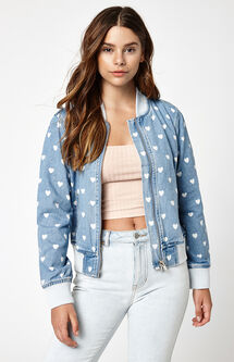 Heart Bomber Jacket