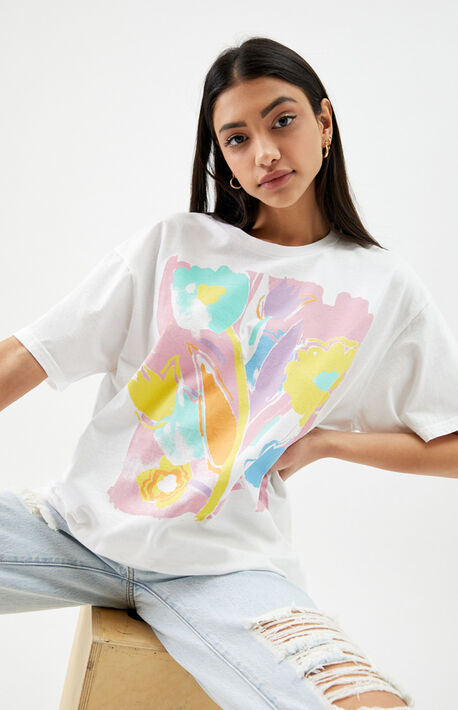 Art Flowers T-Shirt