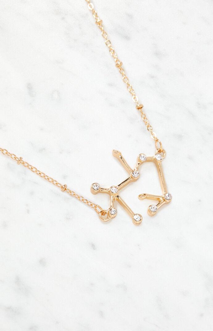 LA Hearts Sagittarius Constellation Necklace at PacSun com
