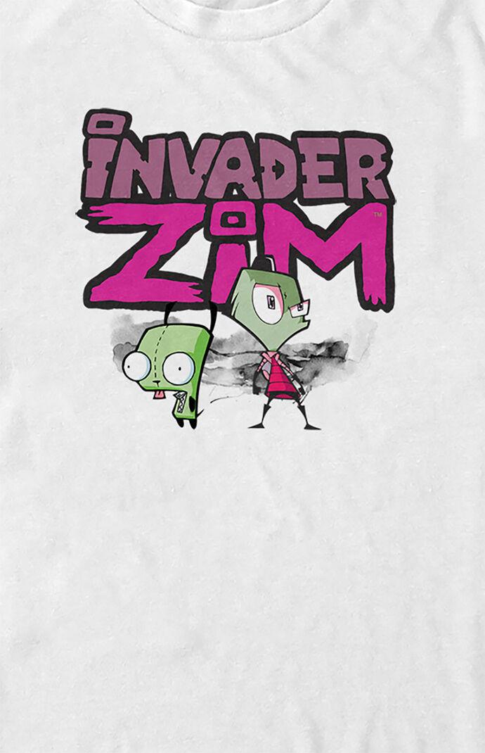 Invader Zim and GIR Logo T-Shirt