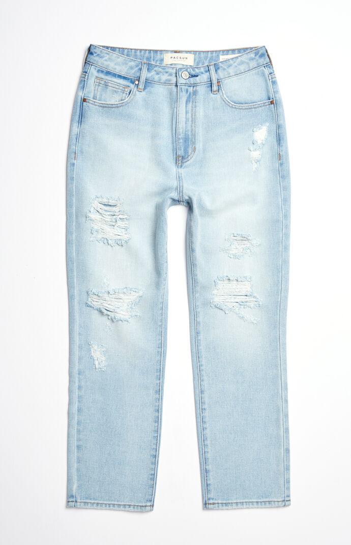 Christina Blue Mom Jeans