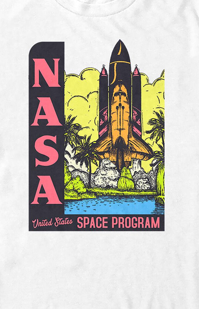NASA Space Program Poster T-Shirt