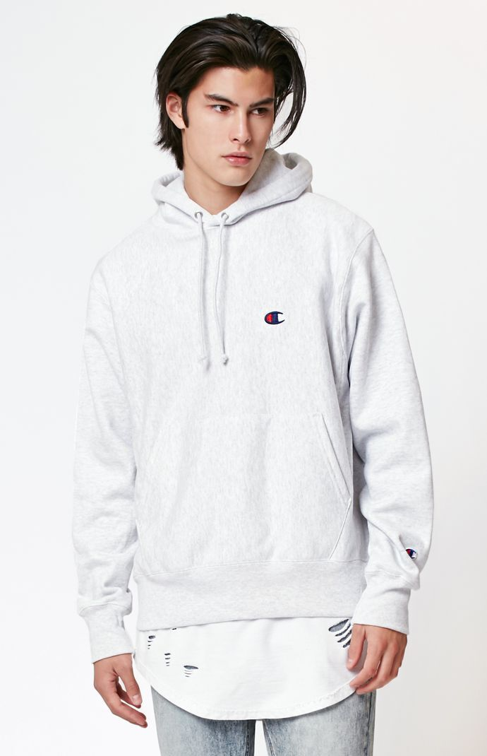 At Pullover Weave Champion C Mini Hoodie Reverse PHxaAqB