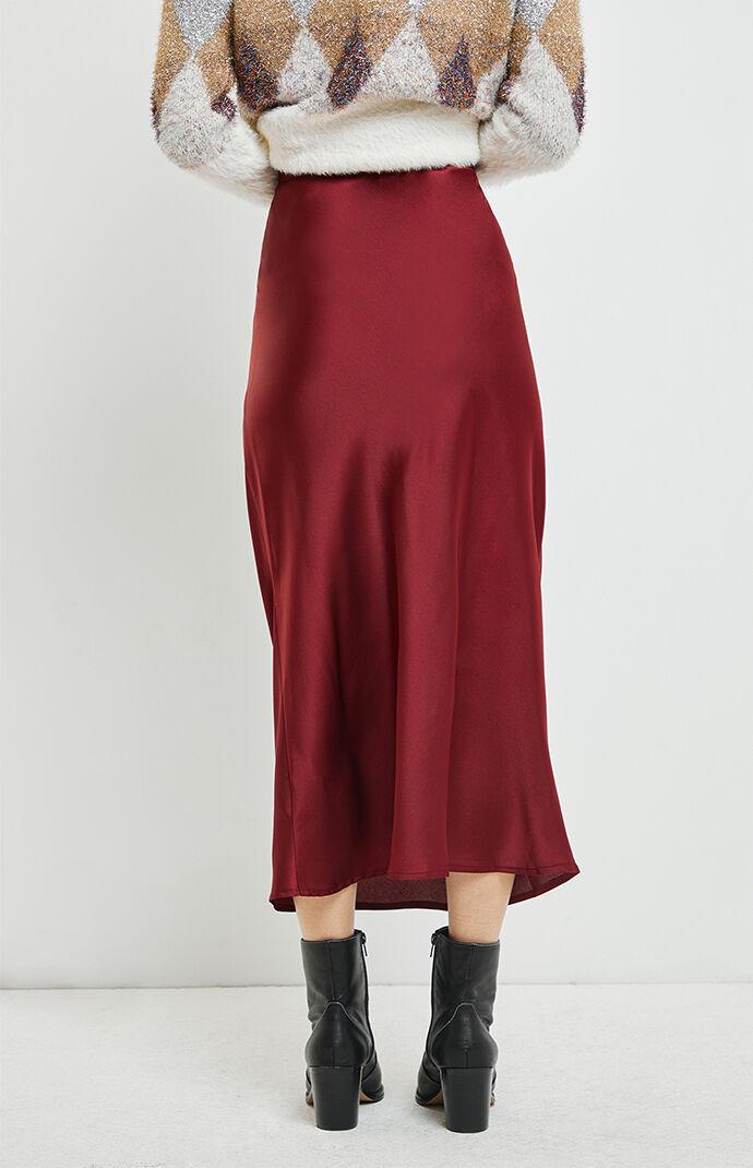 Bella Midi Slip Skirt