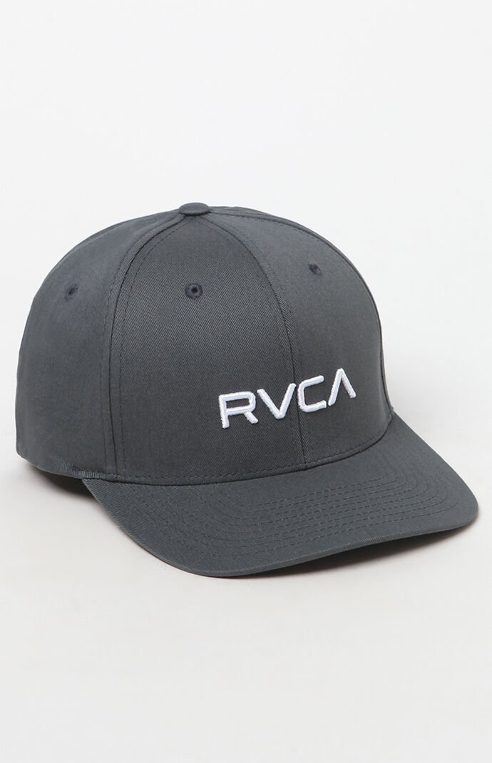 Rvca Flexfit Hat - Gray 6542377