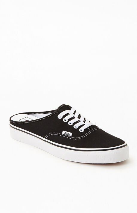 Black Authentic Mule Sneakers