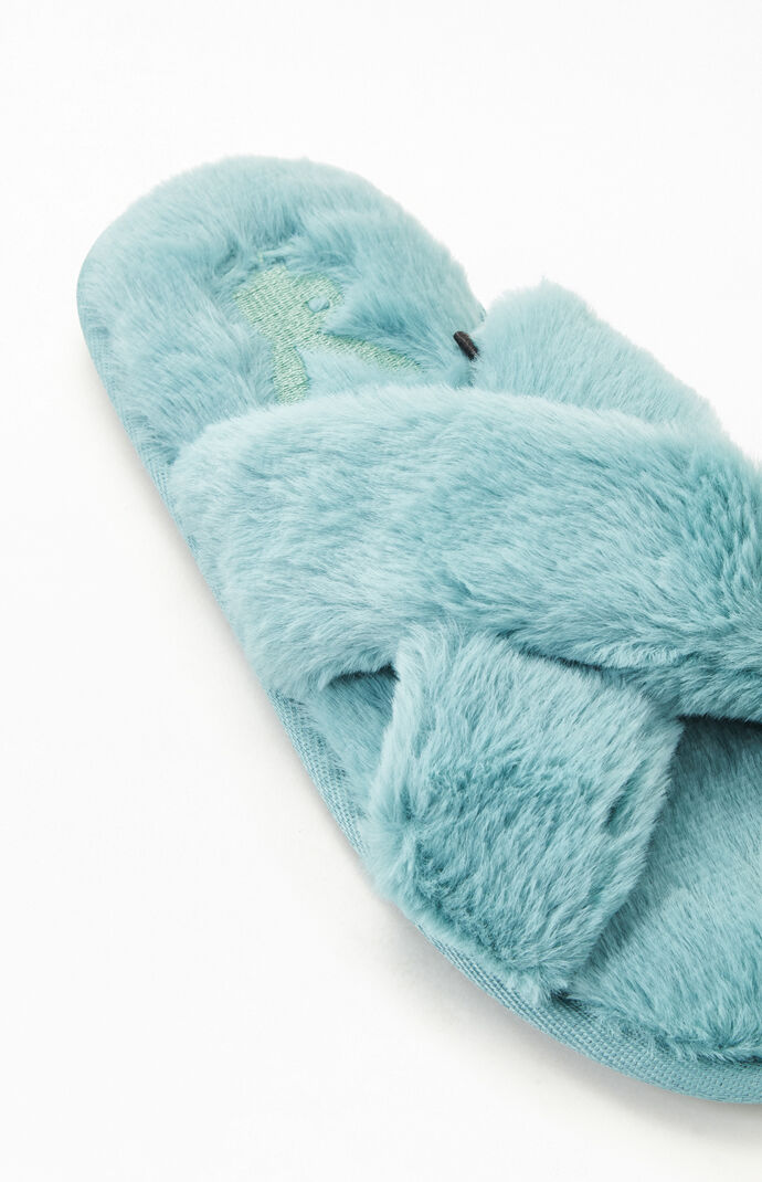 By PacSun Fuzzy Slippers
