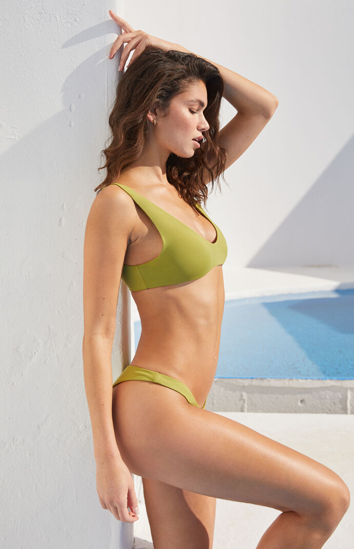 Eco Green Sig Scoop Bikini Top