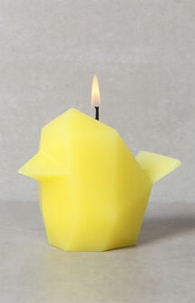 Yellow Bibi Bird Candle