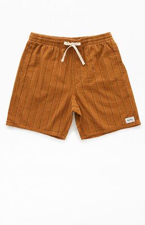 Linen Jam Stripe Shorts image number null