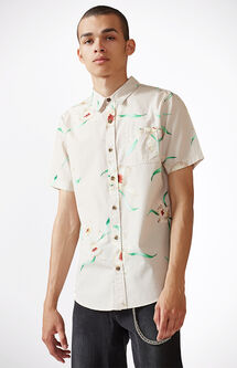 Lily Flys Short Sleeve Button Up Shirt