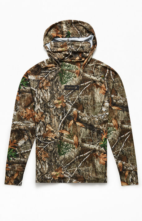x Realtree Hooded Long Sleeve T-Shirt