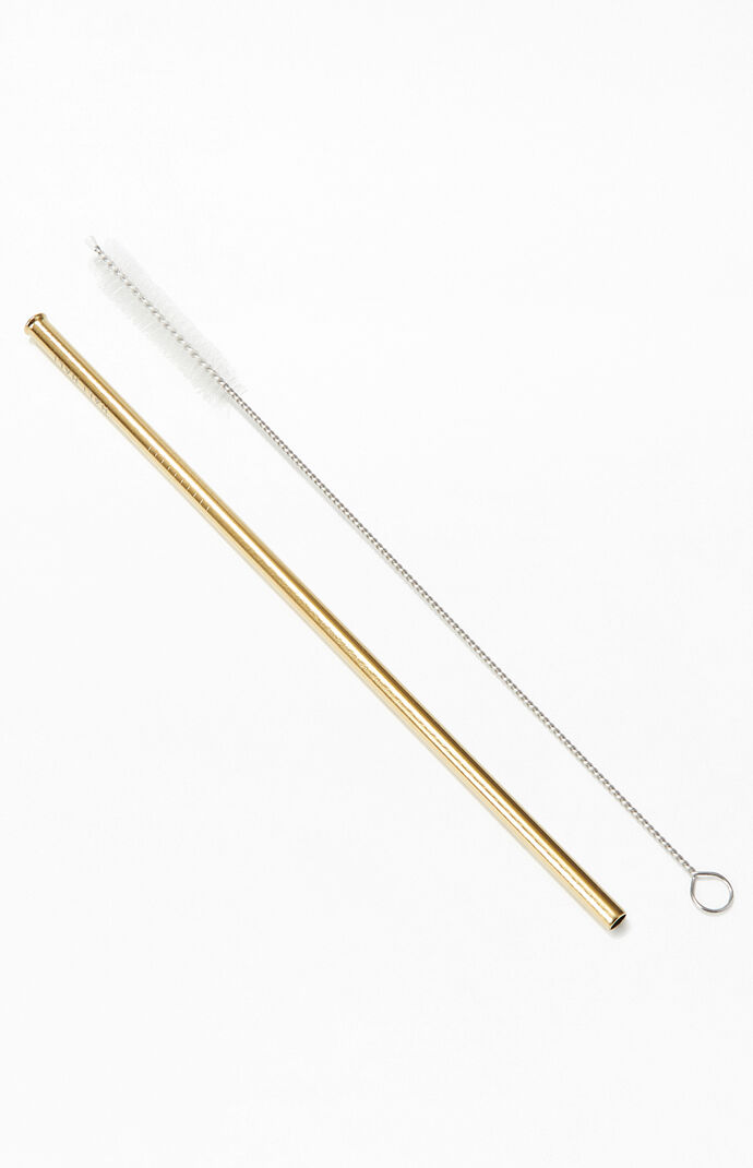3 Piece Love Your Body Reusable Straw Set