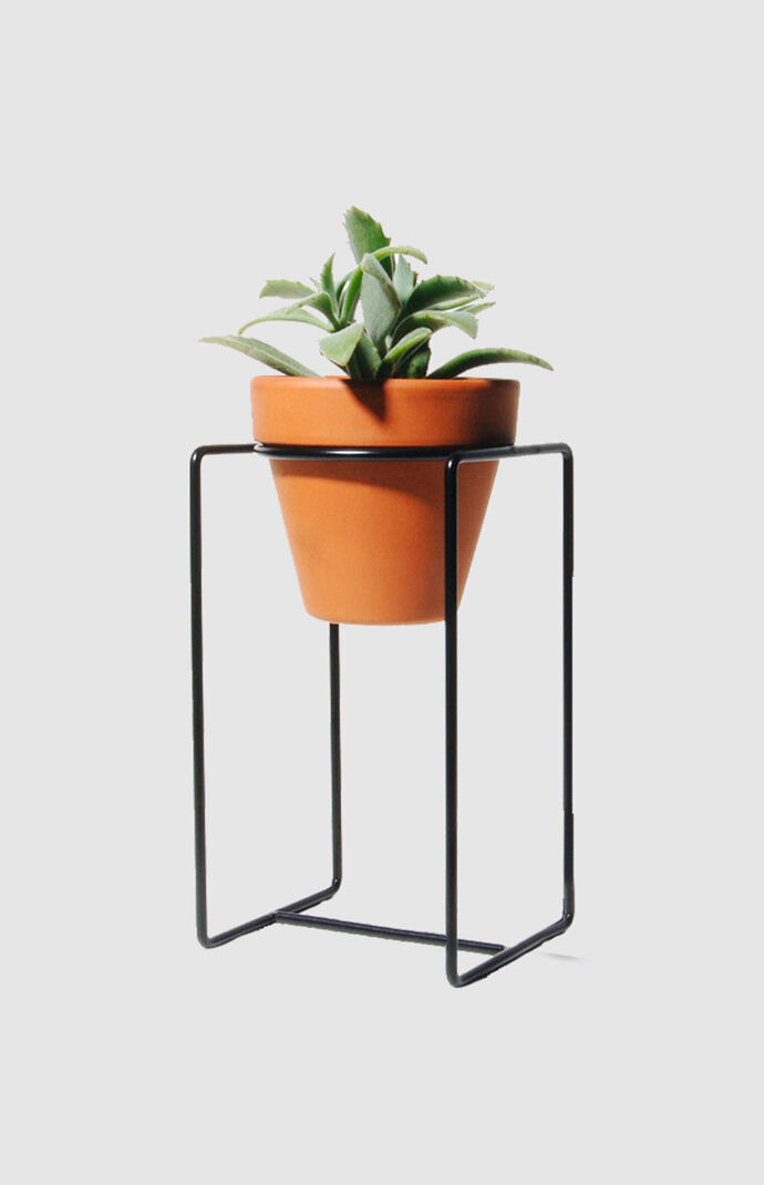 Black Desk Planter