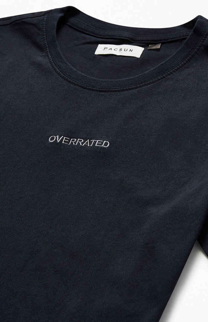 Overrated Vintage Wash T-Shirt