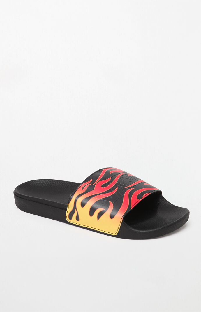 2ff8221e812c Vans Flame Slide-On Slide Sandals