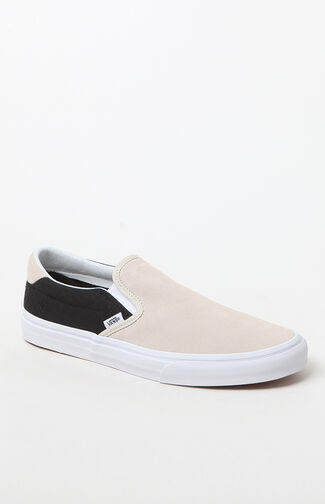 2-Tone Slip-On Shoes