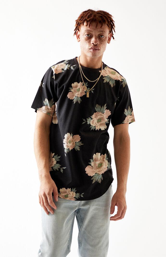 Coronet Floral Scallop T-Shirt