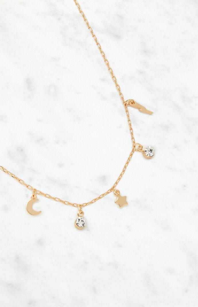Crystal Celestial Necklace