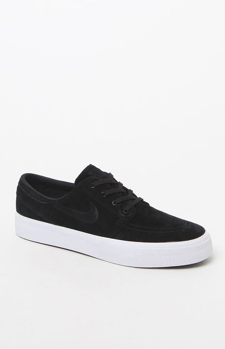 Zoom Stefan Janoski Premium High Tape Black and White Shoes. Nike SB ... c58b6a919