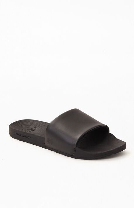 Women's Black Slaya Slide Sandals