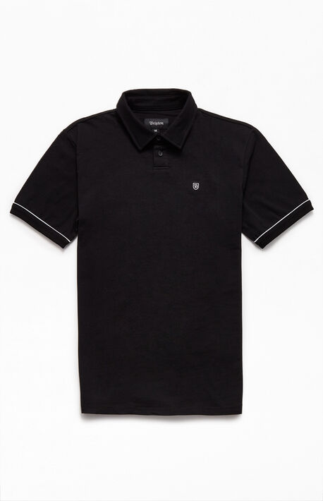 Black Carlos Polo Shirt